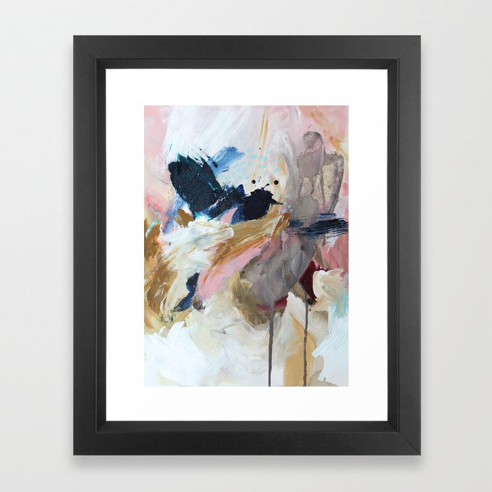 the only one Framed Art Print