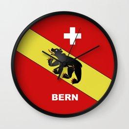 Bern City Of Switzerland Wall Clock