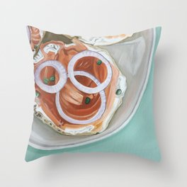 Breakfast Delight Throw Pillow