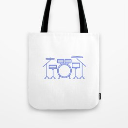 Love the music Tote Bag