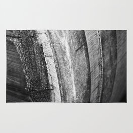 Barrels In Black & White Rug