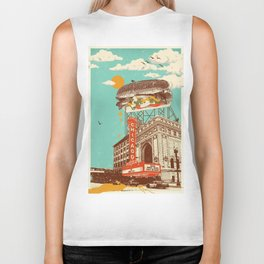 CHICAGO RED HOT Biker Tank