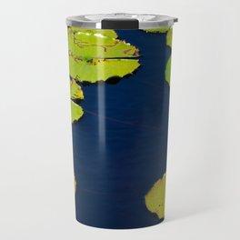 Dark Blue Pond by Teresa Thompson Travel Mug