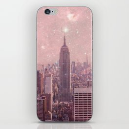 Stardust Covering New York iPhone Skin