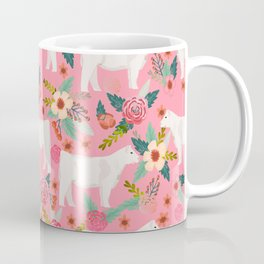 Charolais cattle farm must have gifts homesteader cow breeds florals Coffee Mug