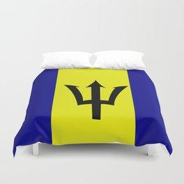 Flag of Barbados Duvet Cover