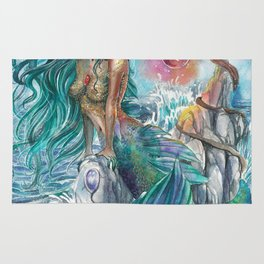 Witch of the oceans Rug