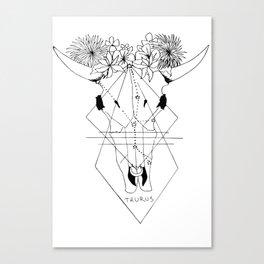 // Taurus // Canvas Print