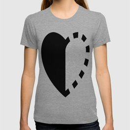 Micah Mason Foundation Heart - Black T-shirt