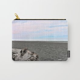 Black Sand Color Sky Carry-All Pouch