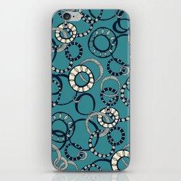 Honolulu hoopla blue iPhone Skin