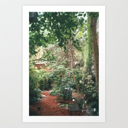 East Village Garden Art Print