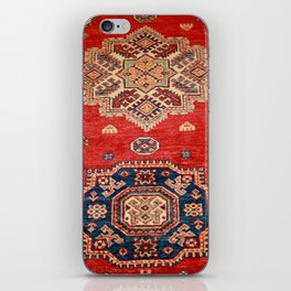 Natural Dyed Handmade Anatolian Carpet iPhone Skin