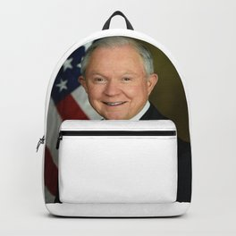 Jeff Sessions Portrait Backpack
