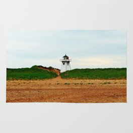 Stanhope PEI Lighthouse and Beach Rug