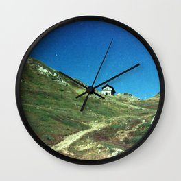 Analog series: Mountain Hut Wall Clock