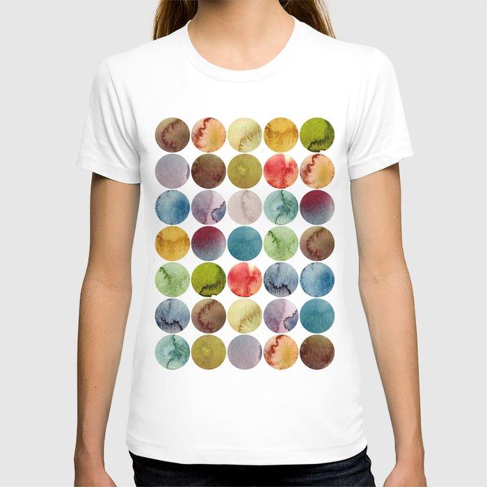 Paint pattern T-shirt