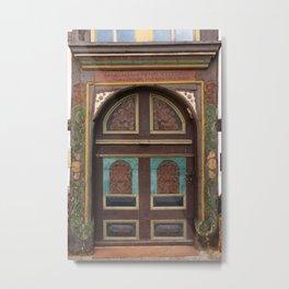 Door From Olden Times Metal Print
