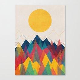 Uphill Battle Canvas Print