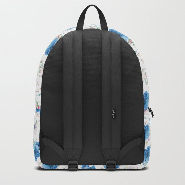 Blue Meadow Pattern Backpack