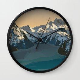 Garibaldi Park Poster Wall Clock