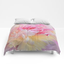 Joy of a Peony by Teresa Thompson Comforters
