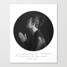 MATTY HEALY // LOSING YOURSELF Canvas Print