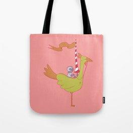 Chicken  Mount Tote Bag