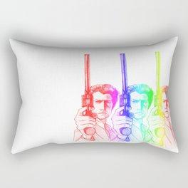 Harry Callahan - Clint Eastwood Rectangular Pillow