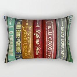 Books 3 Rectangular Pillow