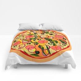 A Veggie Pizza, my Favorite Comforters