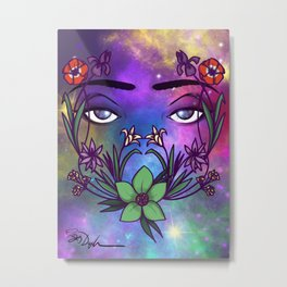 Through the Eyes of the Goddess Metal Print