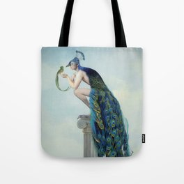 Secrets And Feathers Tote Bag