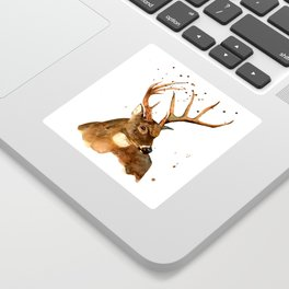Beautiful Blitzen Sticker