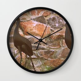 ITS GETTING HARDER TO NAVIGATE THESE ROCKS BABE Wall Clock