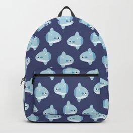 Cute Baby Mola Mola Ocean Sunfish Backpack