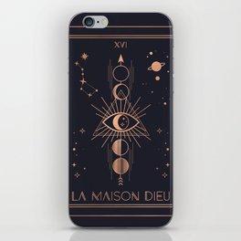 La Maison Dieu or The Tower Tarot iPhone Skin