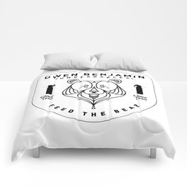 Black Shield Comforters
