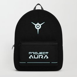 Project Aura Logo Black-White Backpack