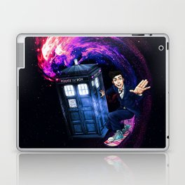 Doctor Who Space Surfing Laptop & iPad Skin