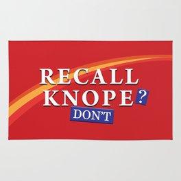 Recall Knope Rug
