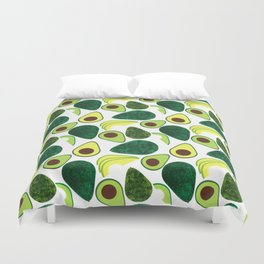 Avocados Duvet Cover