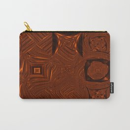 Abstract Art- Brown Art- Sacred Geometry Art- Mom From the Lotus Carry-All Pouch