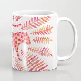 Jaguar – Pink Ombré Palette Coffee Mug