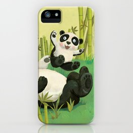 Babies on Bellies iPhone Case