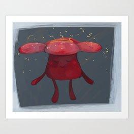 Go to Sleep Art Print