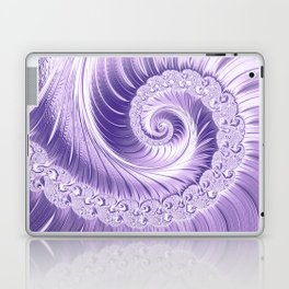 Ultra Violet Luxe Spiral Pattern | Trendy Color of the Year 2018 Laptop & iPad Skin