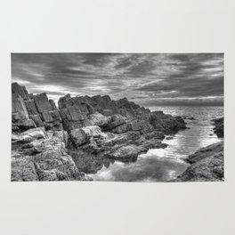 Limeslade Bay Gower Peninsula Rug