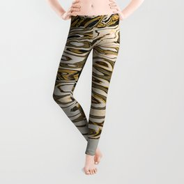 Water ripples abstract Leggings