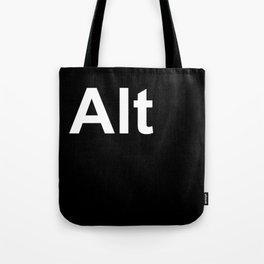 Alt Tote Bag